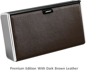Bose Soundlink brown leather